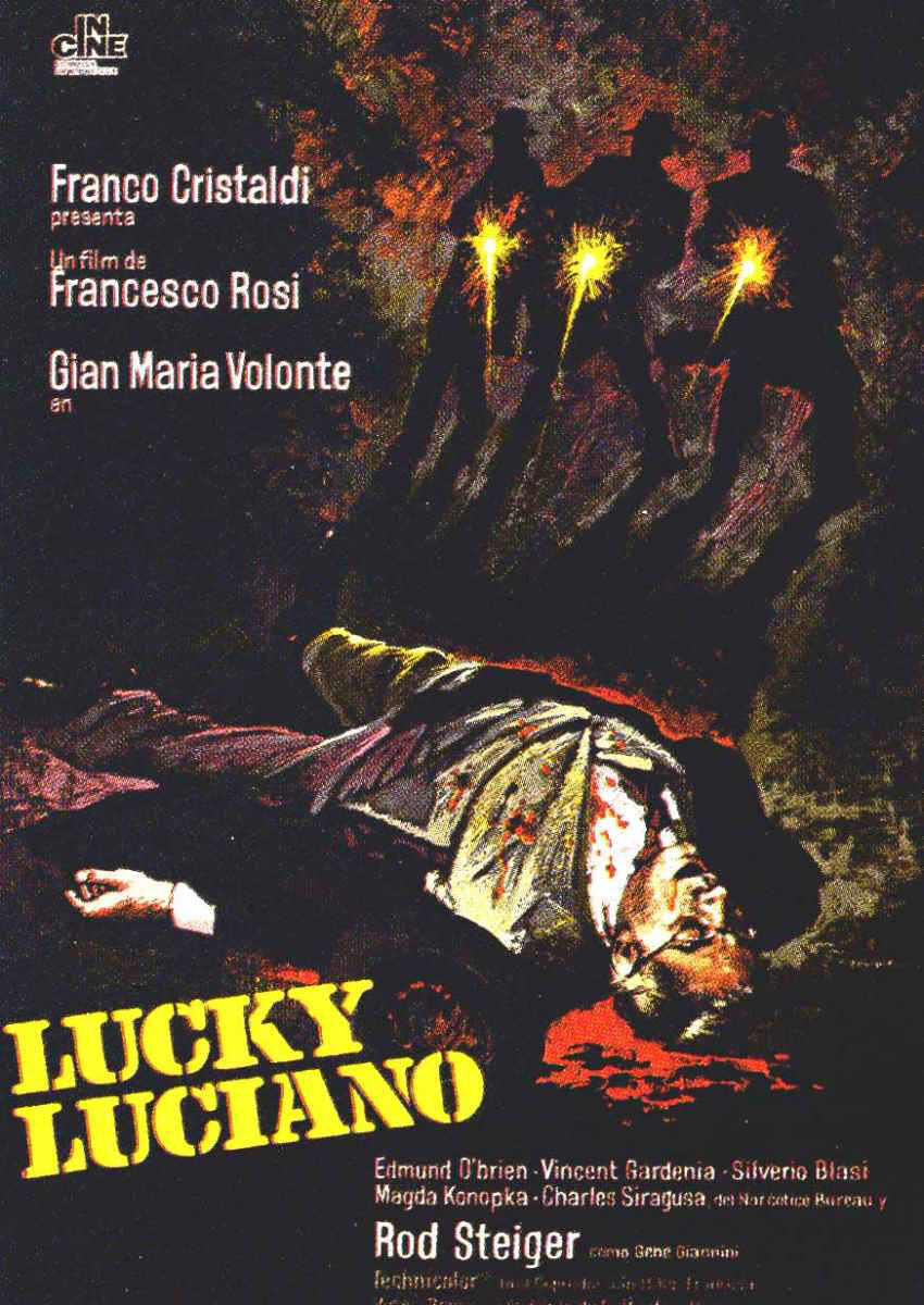 Lucky Luciano poster a